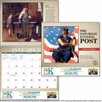 Triumph® The Saturday Evening Post Appointment Calendar (Masterpieces)
