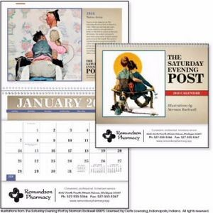 Triumph� The Saturday Evening Post w/Illustrations by Norman Rockwell Pocket Calendar