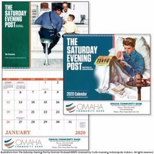 Good Value� The Saturday Evening Post by Norman Rockwell Calendar (Spiral)
